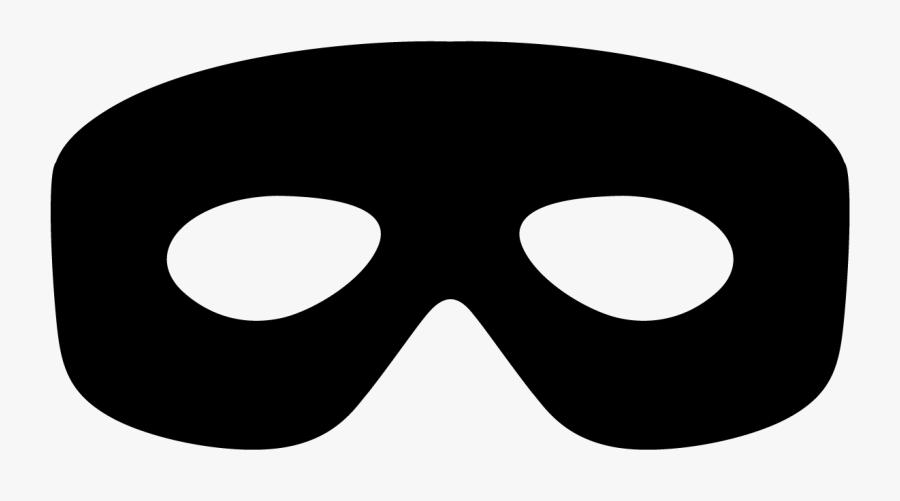 Bandit Mask Transparent , Free Transparent Clipart.