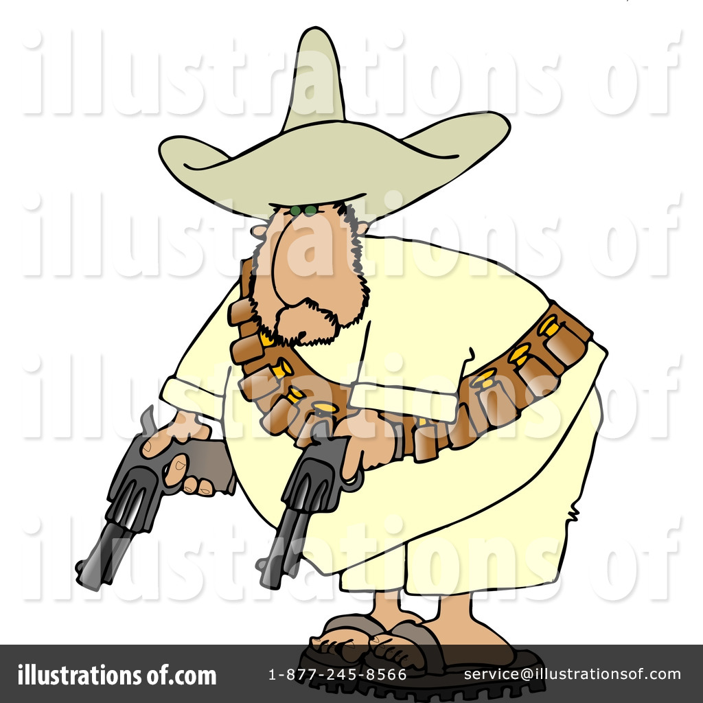 Bandito Clipart #4182.