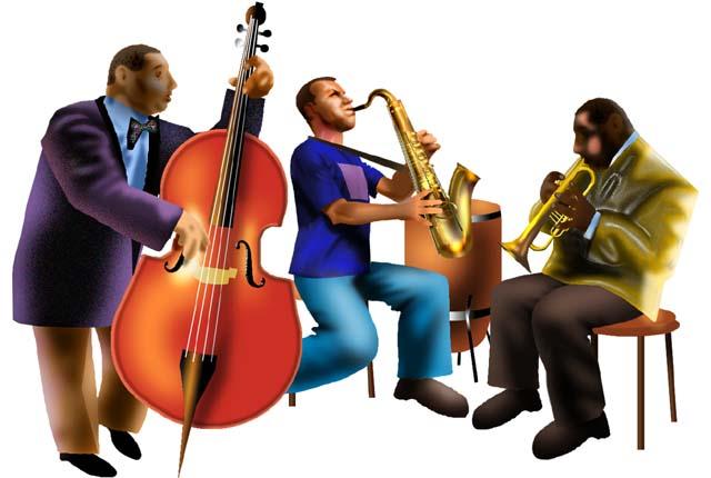 free jazz band clip art - Clipground