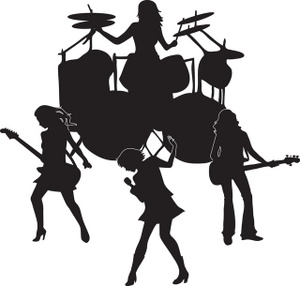 The band clipart #18