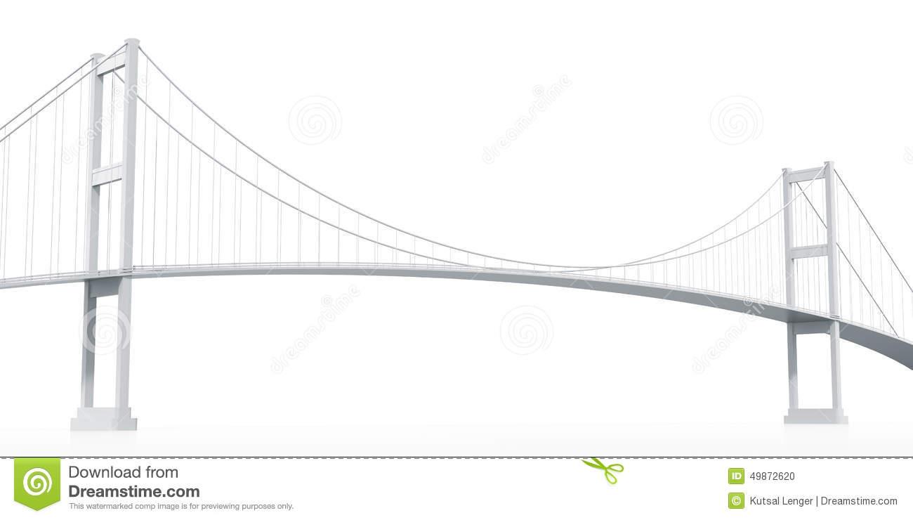 Suspension bridge clipart images.