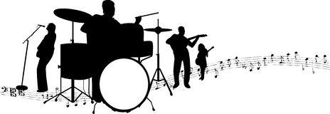 Rock bands clipart.