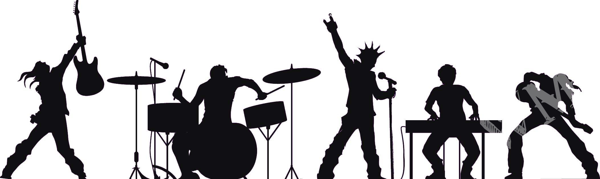 Rock bands clipart.