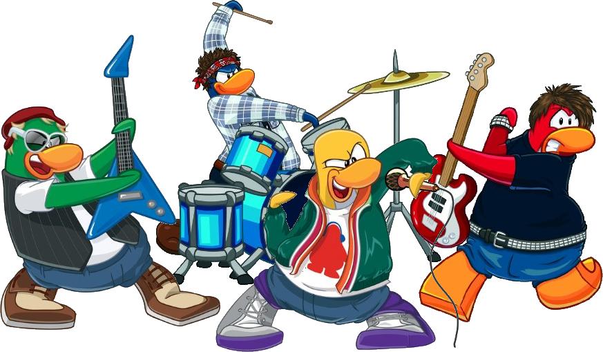 Clip art for rock bands.