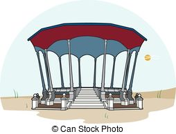 Bandstand clipart #16
