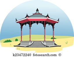 Bandstand Clip Art Illustrations. 43 bandstand clipart EPS vector.