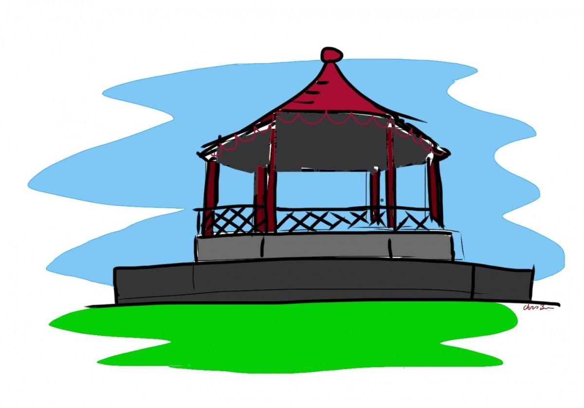 New bandstand for Windsor.