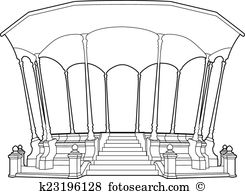 Bandstand clipart #12