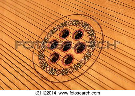Stock Photo of strings of the bandura k31122014.