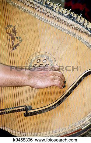 Stock Images of Ukrainian bandura k9458396.