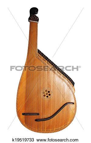 Stock Photo of musical instrument bandura k19519733.