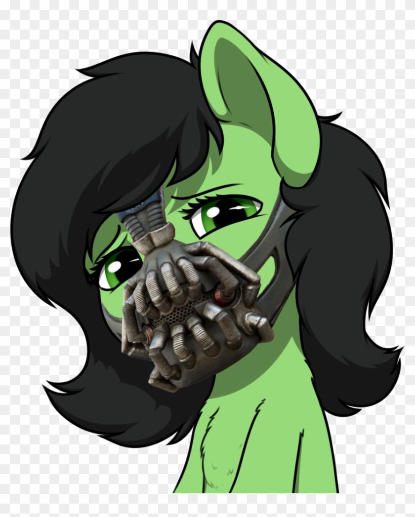 Smoldix, Bane, Bane Mask, Chest Fluff, Earth Pony,.