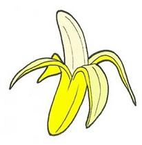 Free Banana Clipart.