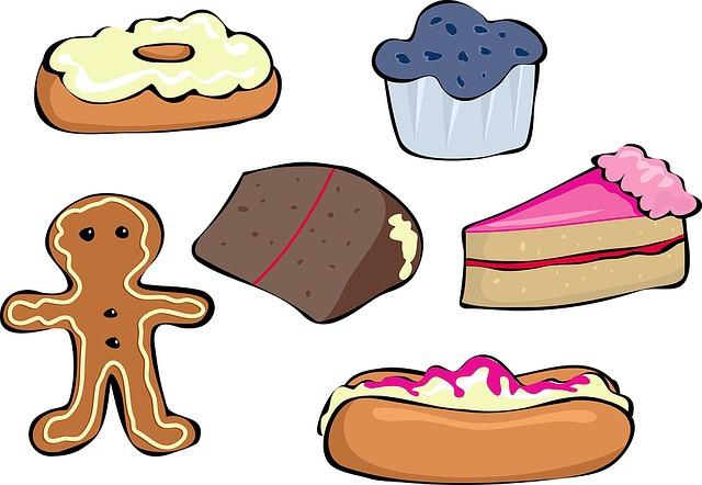 Free photo Cream Banana Cake Layer Cream Cake Pastry Shop.