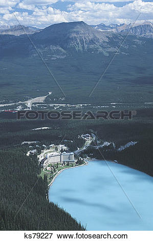 Picture of Chateau Lake Louise. Banff National Park, Canada.