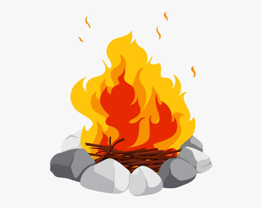 Campfire Bonfire Clip Art.