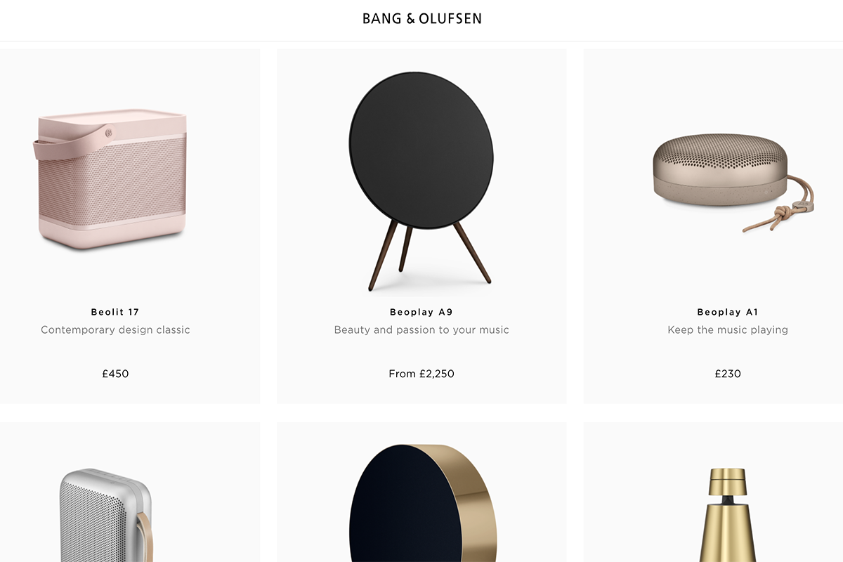 Bang & Olufsen turns digital strategy up to 11 as it goes omni.