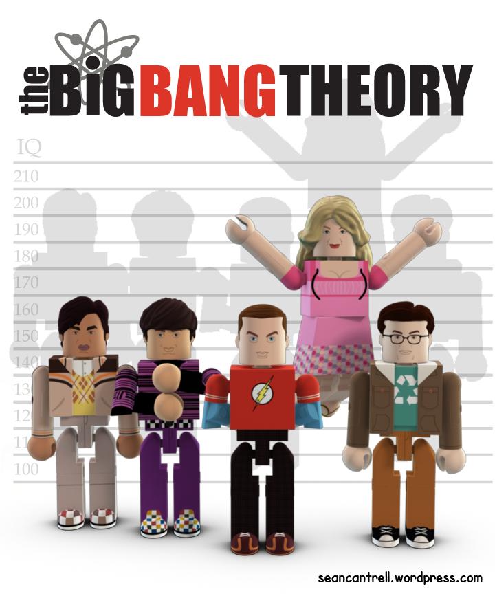 The Big Bang Theory Minimates.