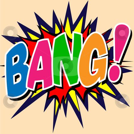 Bang clipart #8
