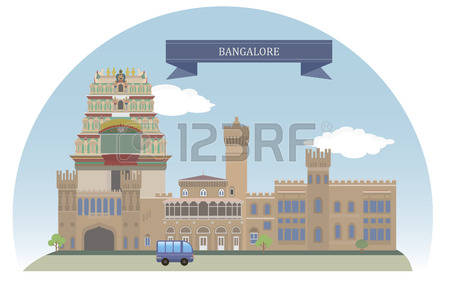194 Bangalore Stock Illustrations, Cliparts And Royalty Free.