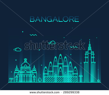 Bangalore City Stock Photos, Royalty.