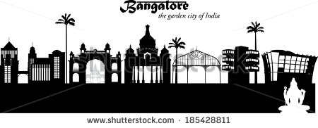 Bangalore City Stock Photos, Royalty.