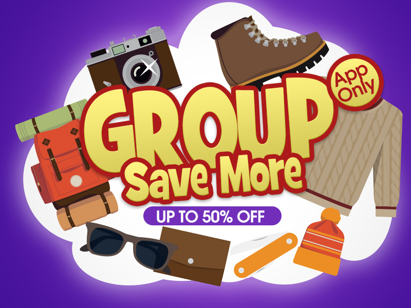 Banggood Promo: Buy in Groups and Save Together.