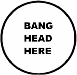 Banging head against wall clipart 2 » Clipart Portal.