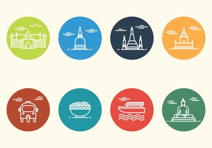 Free Minimalist Bangkok Icon.