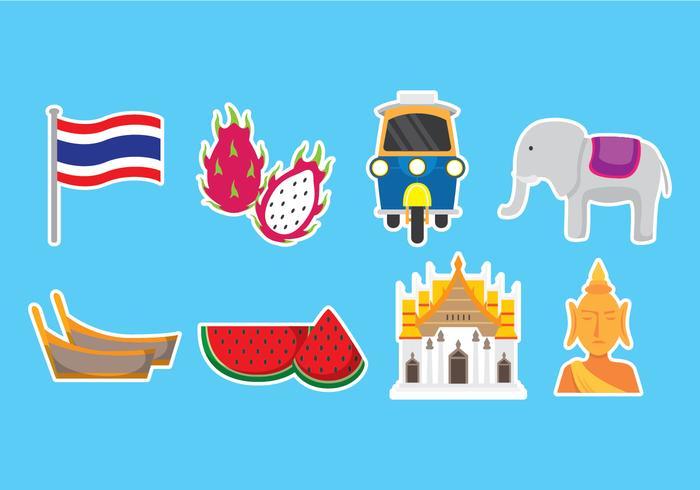 Bangkok Icons.