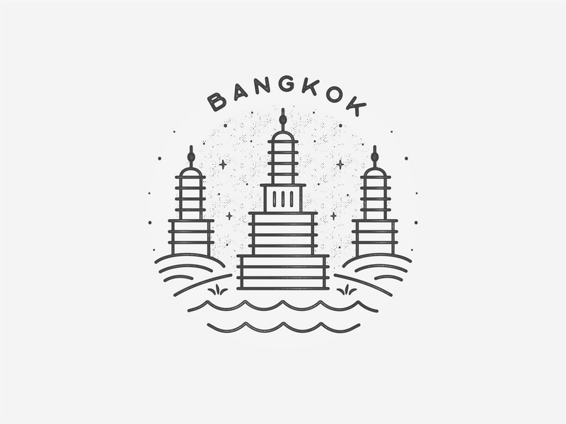 Bangkok by Bailey Latimer on Dribbble.