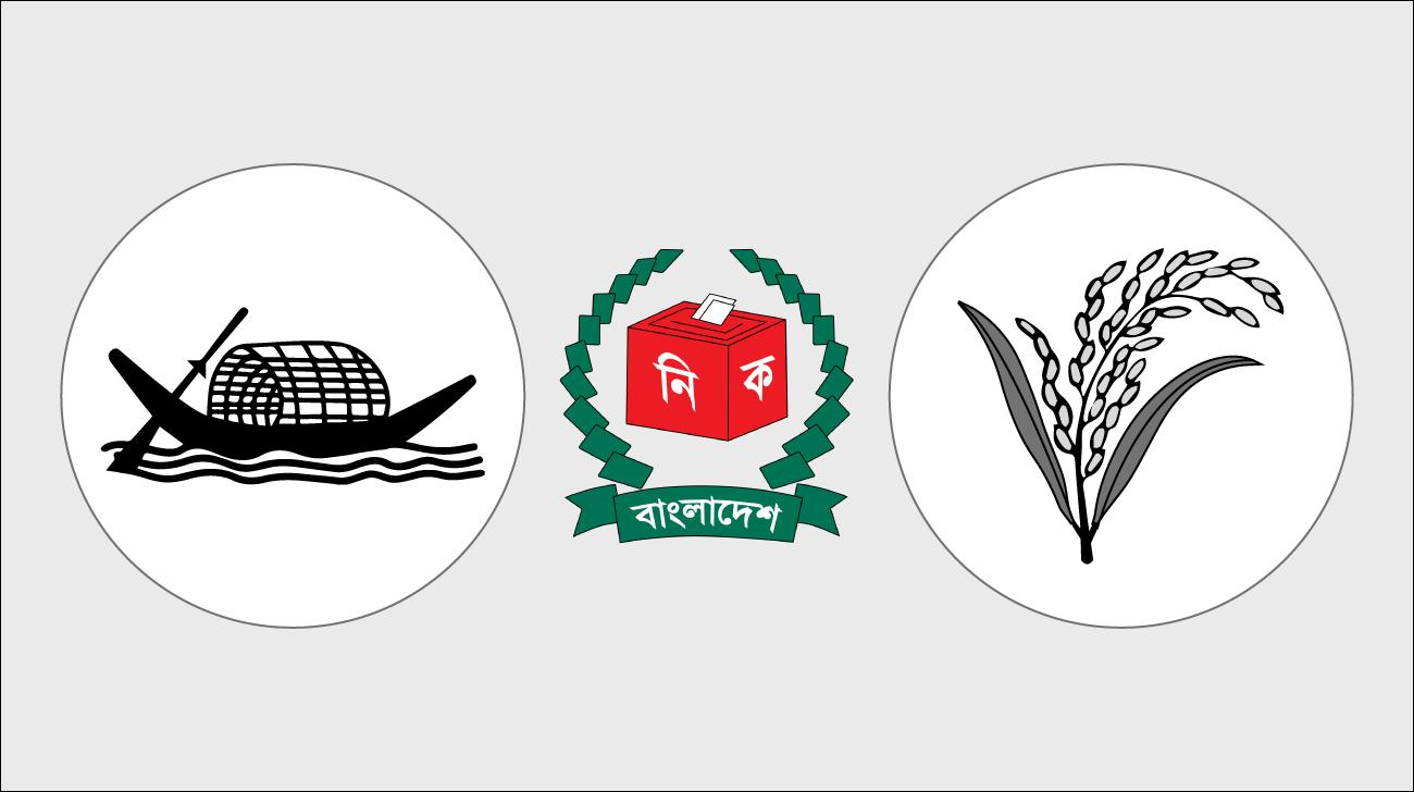 Awami League Vs BNP Candidates in 11th national election 2018.
