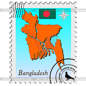 with the image maps of Bangladesh.