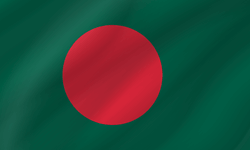 Bangladesh flag clipart.
