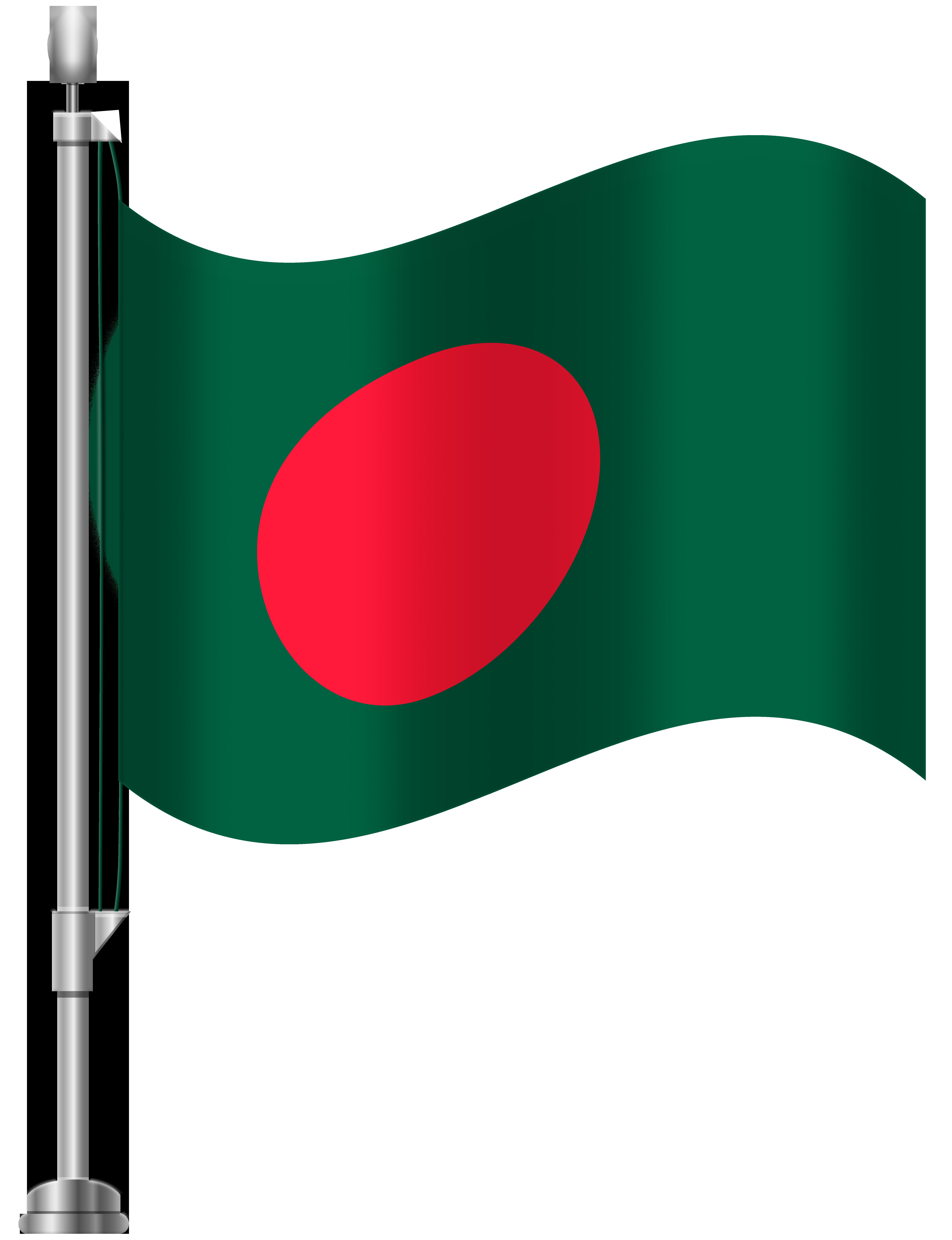 Bangladesh Flag PNG Clip Art.