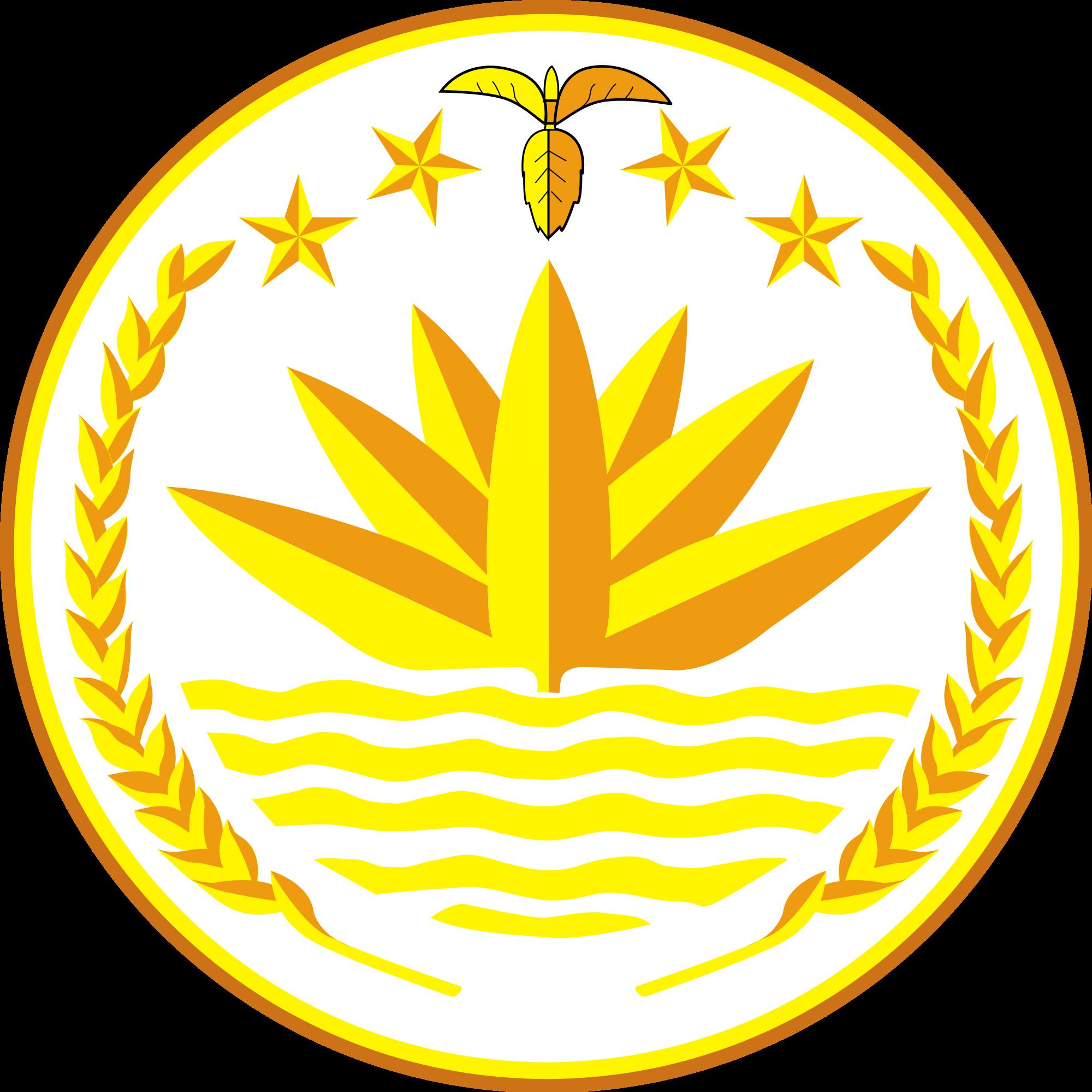 National Emblem of Bangladesh.
