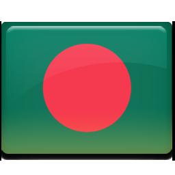 Bangladesh, flag icon.