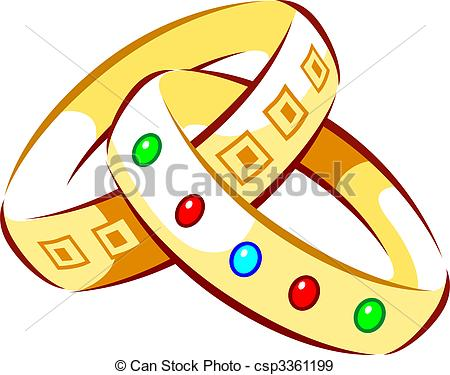Clipart of bangles.