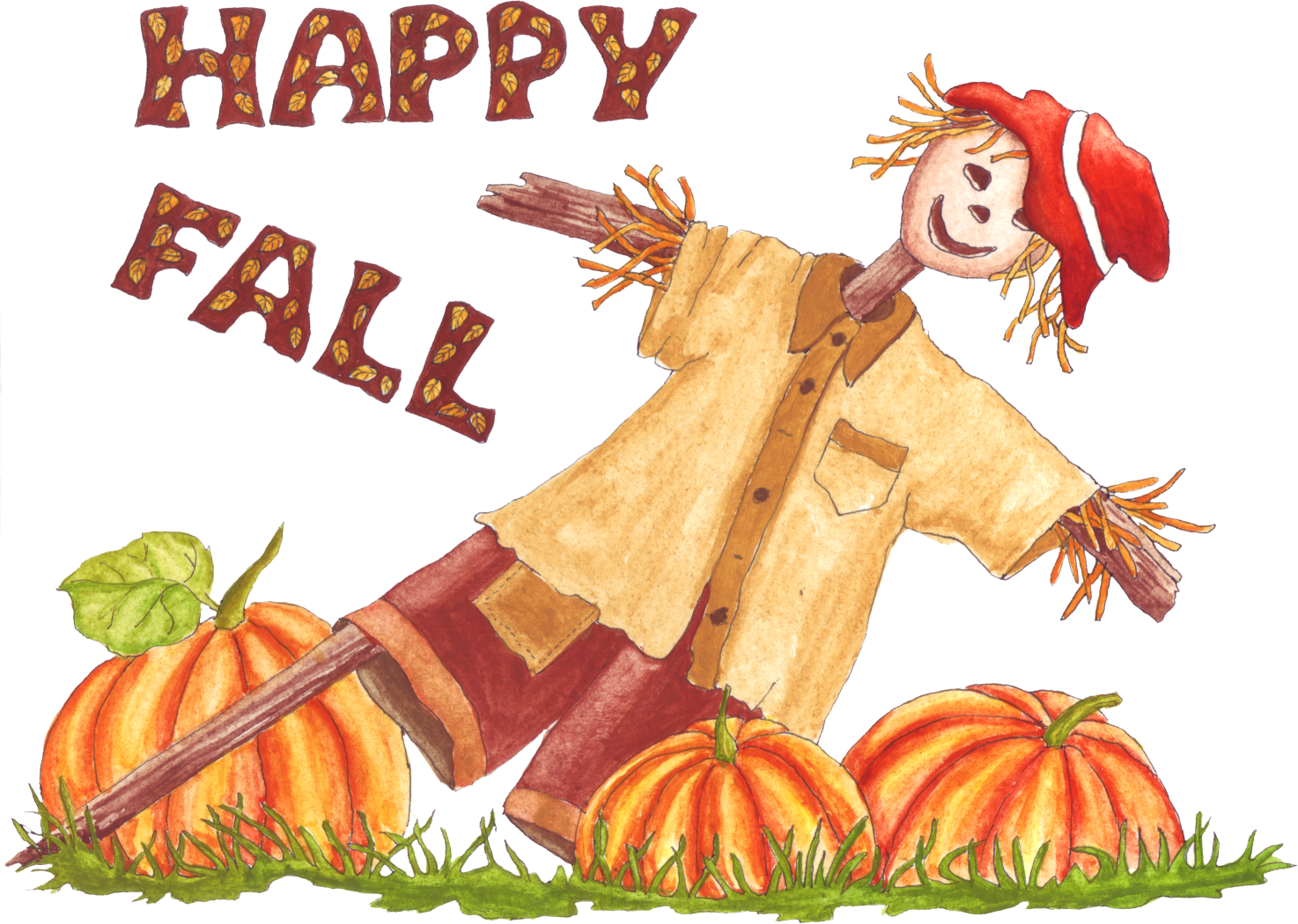 Happy Fall Clipart.