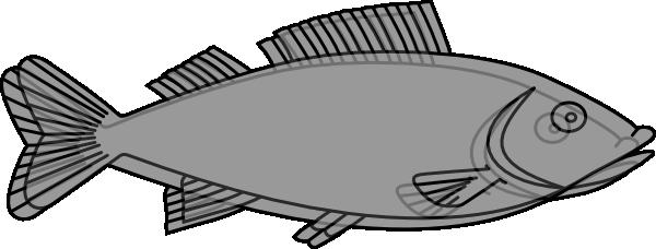 Milk Fish (bangus) Clip Art at Clker.com.