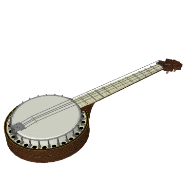 Banjo Clipart #35.