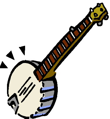 Banjo Clipart.