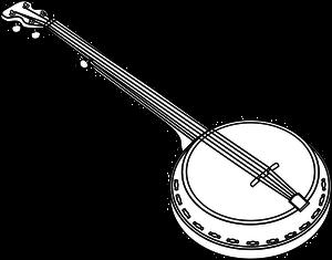5 free banjo clipart.