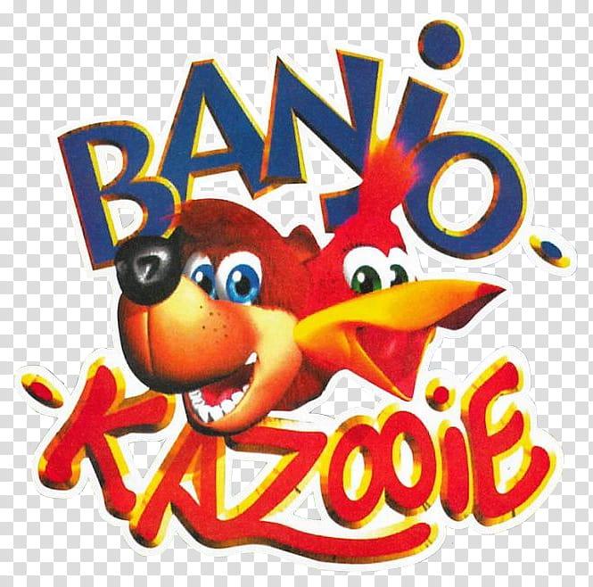 Banjo Kazooie Beta Logo, Banio Kazooie logo transparent.