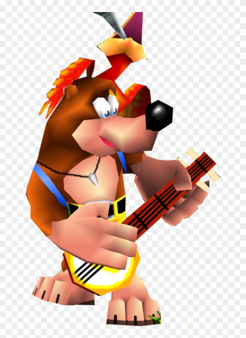 Banjo Kazooie Png.