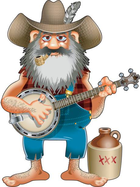 Best Banjo Player Illustrations, Royalty.