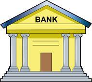 Bank Building Clip Art.