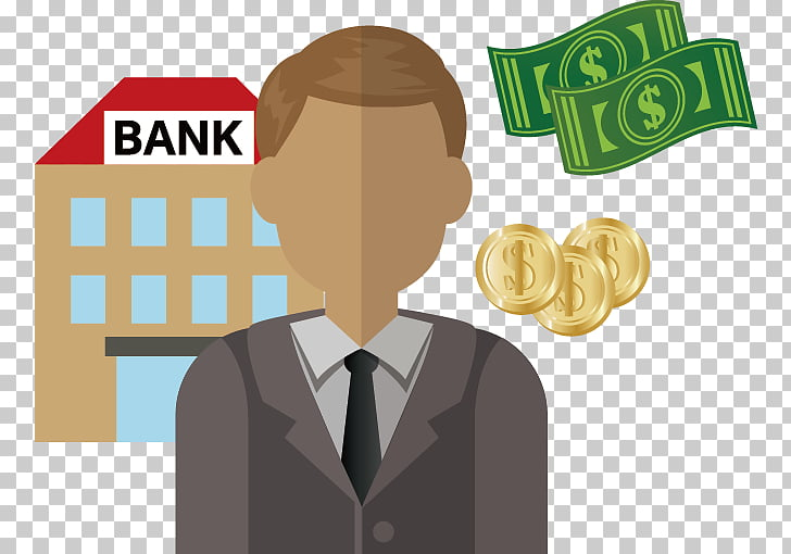 Bank cashier, Bank employee PNG clipart.