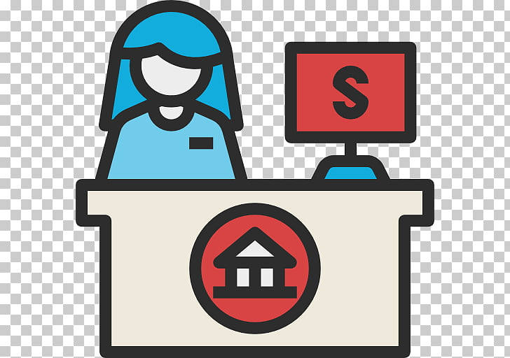 Bank cashier Computer Icons Finance Money, bank PNG clipart.