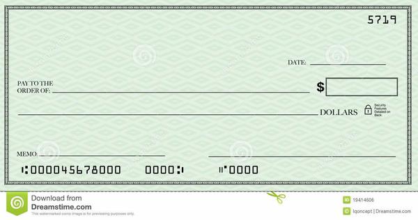 Free Bank Check Clipart.